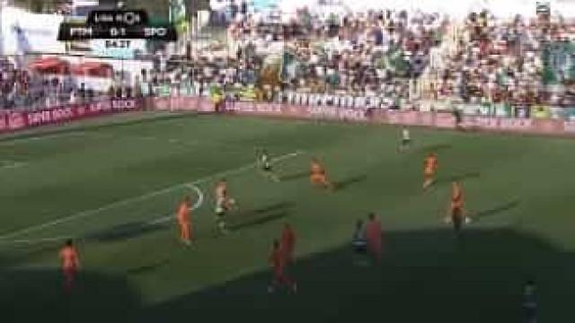 Tridente leonino parte defesa do Portimonenses e abre caminho para o 2-0
