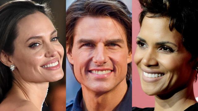 Os fotogénicos sorrisos das celebridades