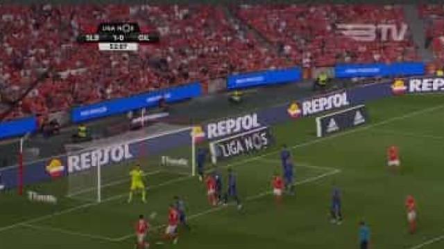 Pizzi redime-se e marca segundo do Benfica frente ao Gil Vicente