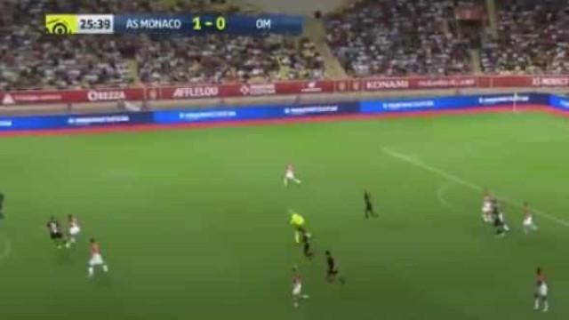 Gelson Martins fez 'bailinho' e abriu espaço para o segundo do Monaco