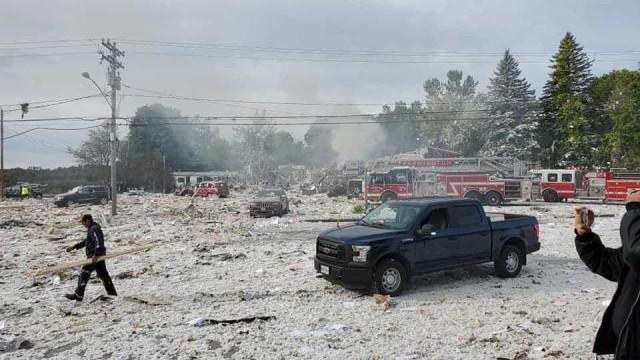Pelo menos um morto e vários feridos em explosão no Maine