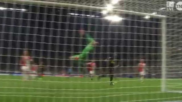 A defesa monumental que negou o golo a Lukaku aos 90+7'