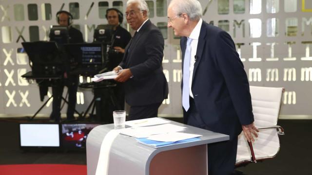 """Diferenças em relação a Costa """"ficaram marcadas no debate"""", diz Rio"""