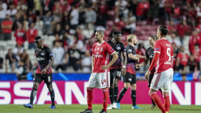 Uma estreia amarga na Luz. As notas do Benfica-RB Leipzig