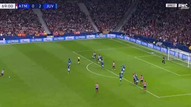 Savic marcou no Wanda Metropolitano e relançou o Atlético-Juventus