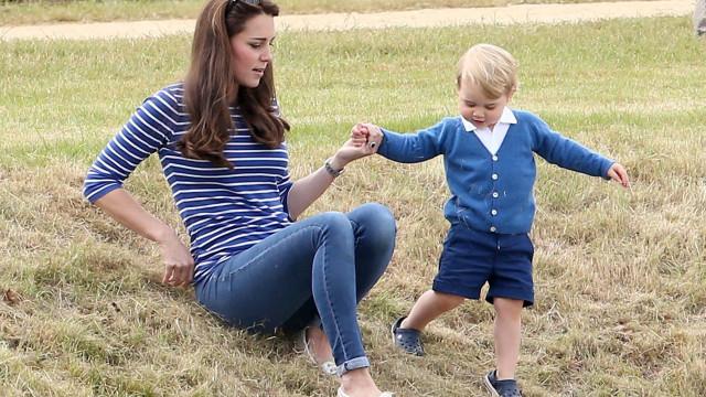 "Kate Middleton ""mal pode acreditar"" que George já tenha seis anos"