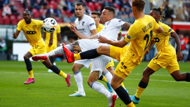 [0-0] St. Liège-Vitória SC: Jogo morno na Bélgica
