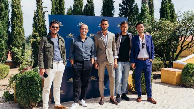 Dolce & Gabbana elege 'kings' portugueses em apresentação de novo perfume