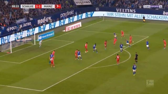 Jogador do Schalke 04 garante triunfo caseiro com golo à... Quaresma
