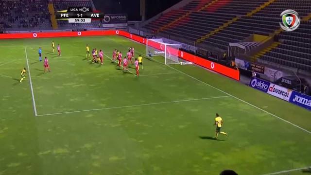 Foi assim que Douglas Tanque devolveu o empate ao P. Ferreira-Aves