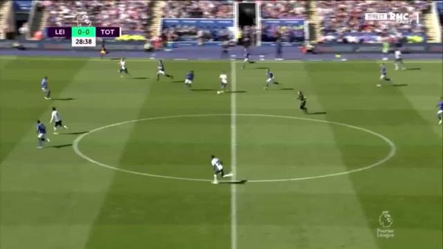 Kane abre marcador frente ao Leicester com tento caricato