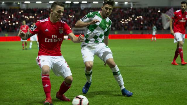 Moreirense-Benfica: Já há onzes em Moreira de Cónegos