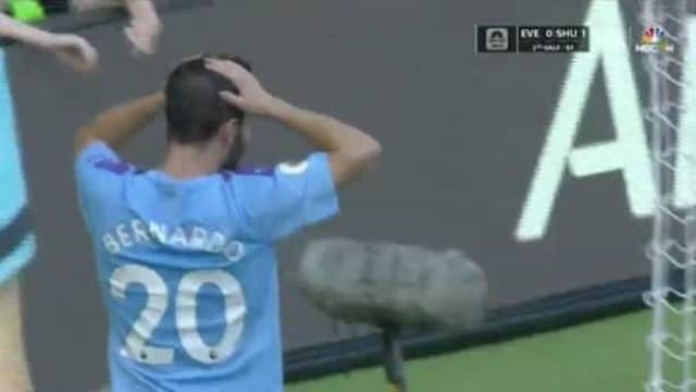 Bernardo Silva completou hat-trick e a reação do português foi esta