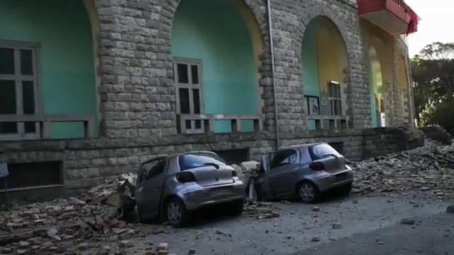 Sismo de magnitude 5.6 atinge Albânia