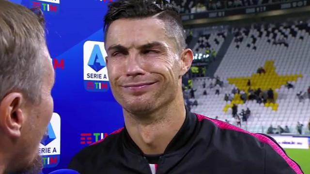 """Ronaldo aborda gesto polémico em Madrid: """"As pessoas são tontas"""""""