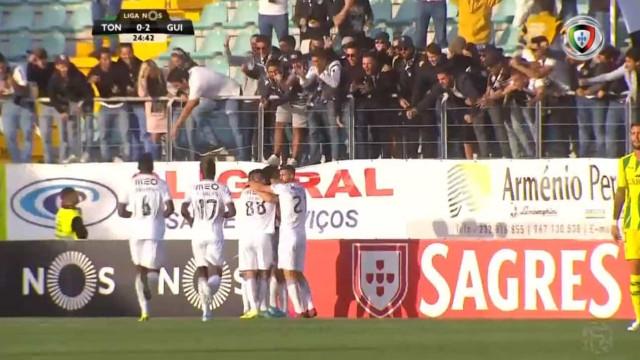 Tremendo (duplo) erro defensivo permite a Bruno Duarte marcar em Tondela