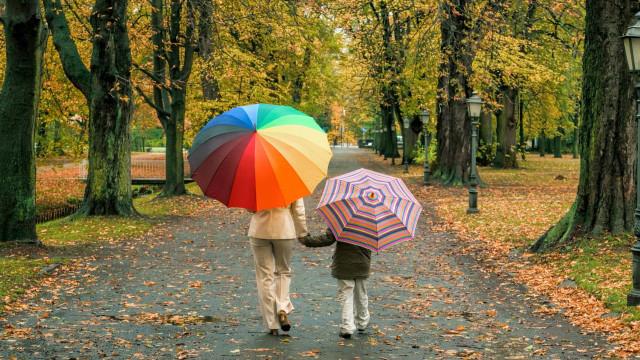 Outono começa hoje com temperaturas entre 20 e 27 graus e chuva no Minho
