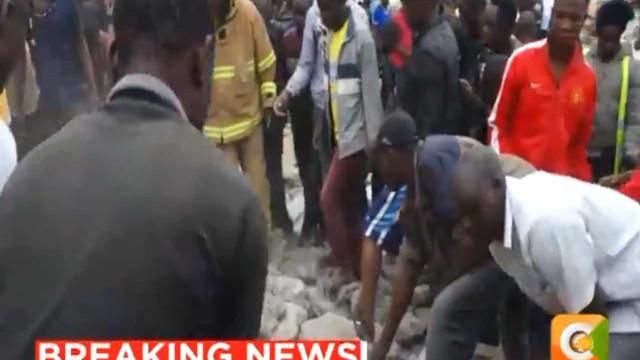 Pelo menos sete estudantes morreram em desmoronamento de escola no Quénia