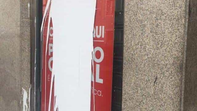 Benfica denuncia ato de vandalismo contra casa do clube em Braga