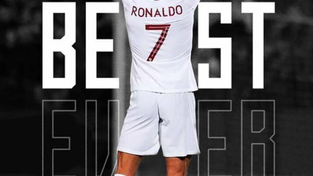 Seleção portuguesa 'emenda' FIFA e dá 'The Best' a Ronaldo