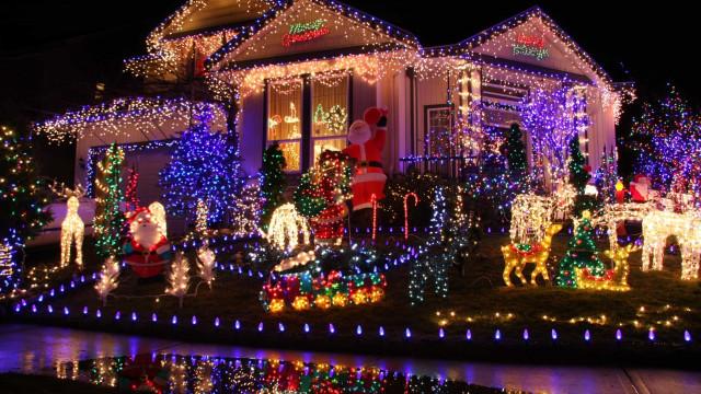 As impressionantes decorações de Natal espalhadas pelo mundo