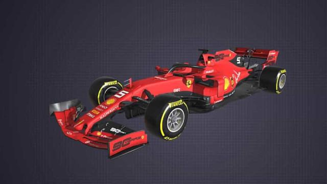 Quer ver em detalhe um carro de Fórmula 1? Agora já pode