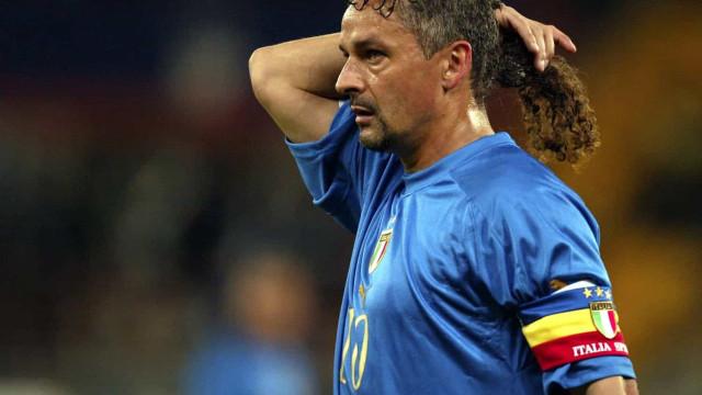 "Roberto Baggio confessa: ""Pedi à minha mãe para me matar"""