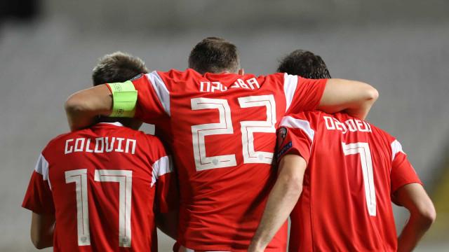 Venha de lá a 'matrioska': Há mais um país qualificado para o Euro-2020