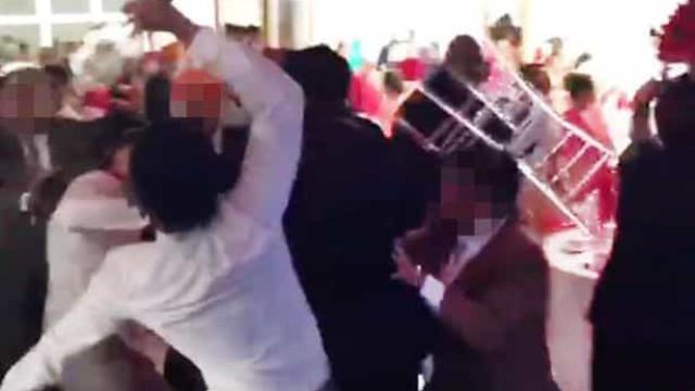 Convidados distribuem murros em festa de casamento no Reino Unido