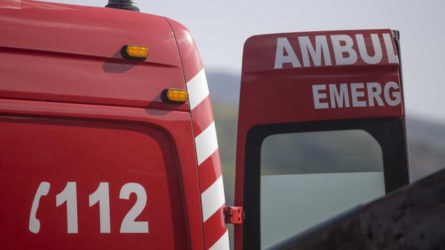Quatro feridos em atropelamento na Moita. Criança em estado grave