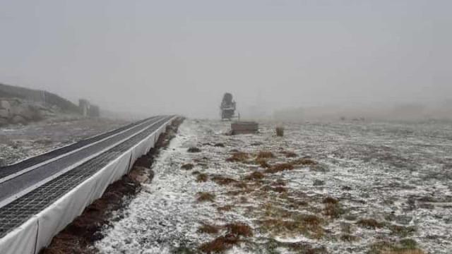 Já nevou na Serra da Estrela