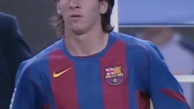 Messi: Estreia aconteceu há 15 anos e já lá vão 672 golos do argentino