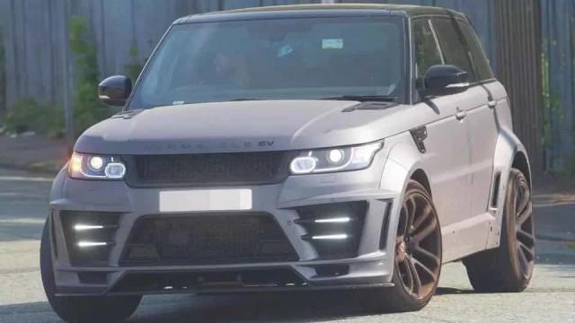 Sabe quanto custa o Range Rover que Agüero partiu esta manhã?