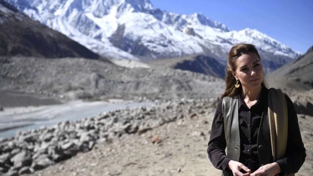 O look de Kate Middleton para experiência 'todo o terreno'