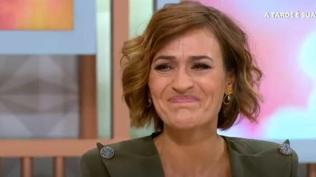 Fátima Lopes em lágrimas após ajuda de telespectador a pai de 5 filhos