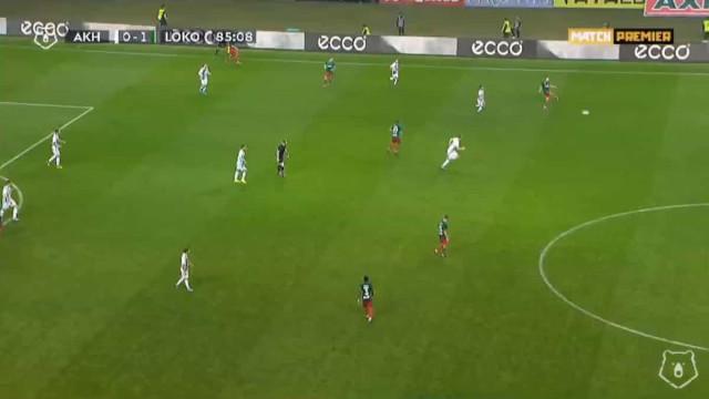 João Mário estreia-se a marcar e fecha nova vitória do Lokomotiv