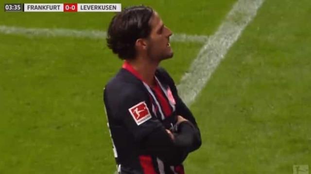 Gonçalo Paciência em grande: Bastaram 17 minutos para bisar ao Leverkusen