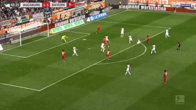 Bayern opera a reviravolta com um golaço de Gnabry