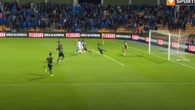 Foi assim que Luís Díaz inaugurou o marcador no Coimbrões-FC Porto