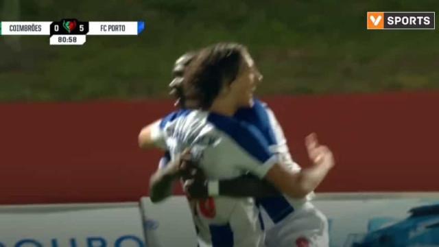 Fábio Silva faz golo e já é o mais jovem de sempre a marcar pelo FC Porto