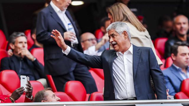 Presidente do Cova da Piedade enaltece gesto do Benfica após jogo da Taça