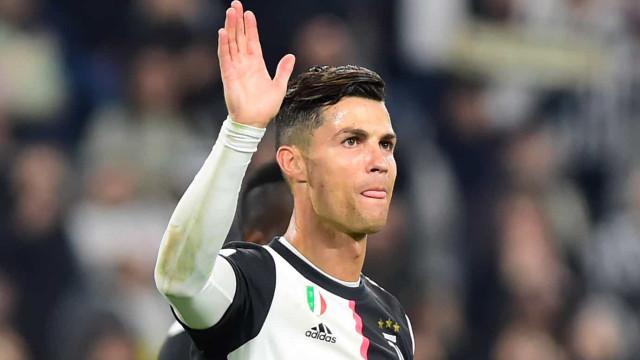 Assim relataram os italianos o 701.º golo da carreira de Ronaldo