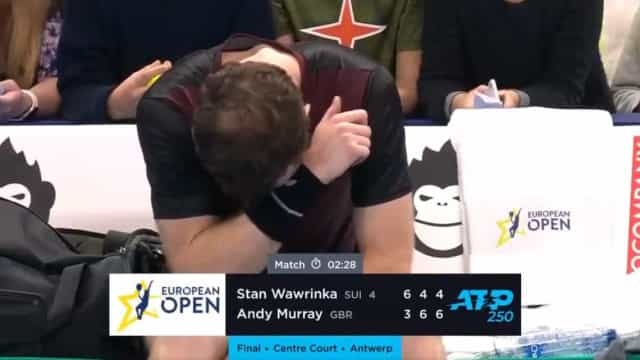 Murray voltou a vencer um torneio e terminou com cara lavada em lágrimas