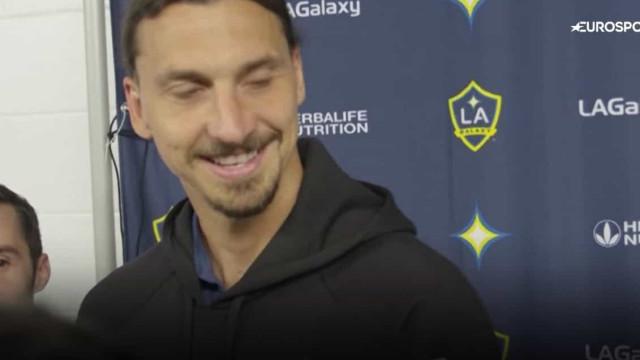 Ancelotti ligou a Ibrahimovic? Zlatan responde... à Zlatan