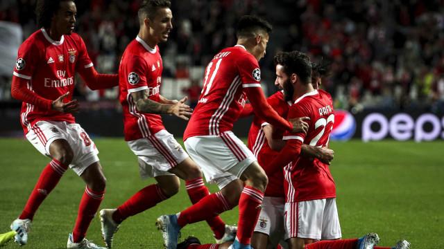 Esperança renovada. Benfica volta a saborear uma vitória na Champions
