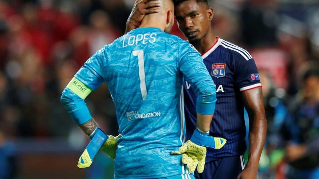 Benfica vence Lyon e imprensa francesa coloca um luso na 'guilhotina'