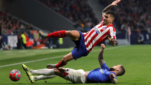 Revelados os nomes dos futebolistas infetados com Covid-19 no Atl. Madrid