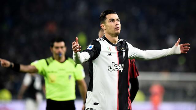 """Ronaldo está """"furioso"""": Em Itália já falam num 'Caso CR7'"""