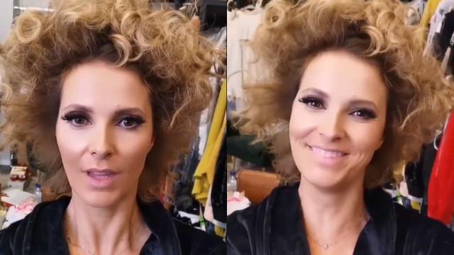 """Cristina Ferreira mostra bastidores da caracterização de """"sua alteza"""""""