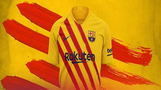 Barça lança quarto equipamento da época e cores prometem dar que falar